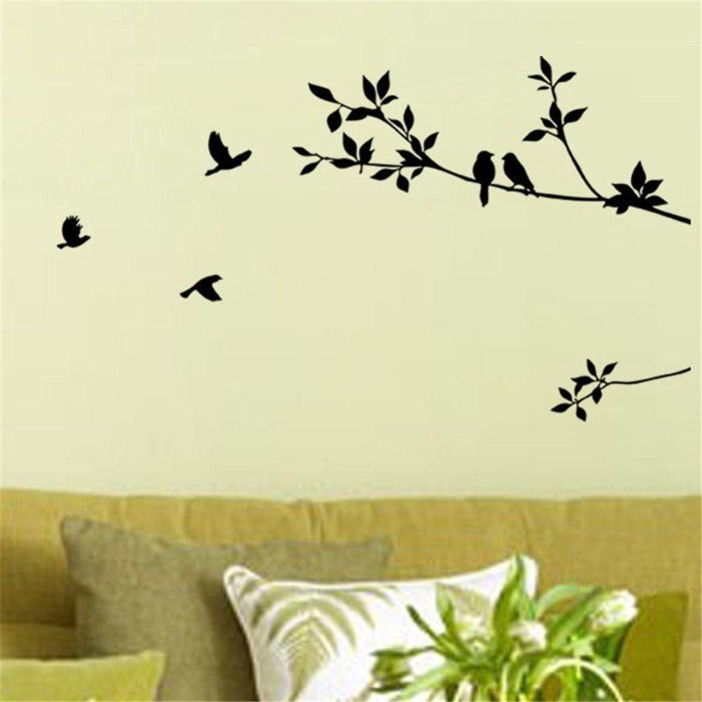 Philippines | DIY Removable Bird Tree Branch Decor Room Warm Home ...
