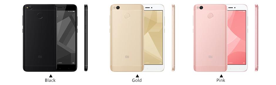 Product details of Xiaomi Redmi 4X 2GB RAM 16GB ROM 13MP 5MP Camera Octa-Core Dual SIM 4G LTE 4100mAh Fingerprint (Gold)