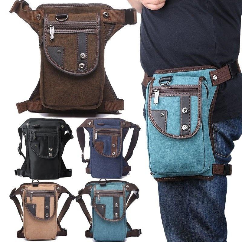 Specifications of Men Women Multi-purpose Leg Bag Military Drop Bag Outdoor Waist Bag - intl