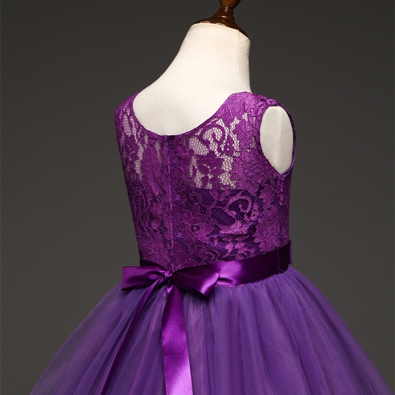 Elegant Pink Princess Dress for Kids Birthday Great Gift Teens Girls ...