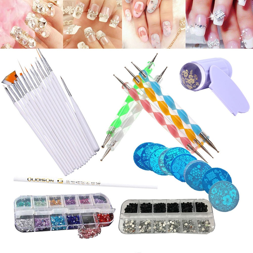 Nail art brands nail art designs on sale prices set reviews 30pcs nail art design dotting painting drawing polish brush pen tool intl prinsesfo Gallery
