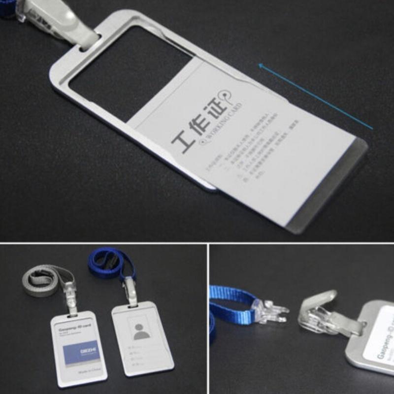 ... Necklace LANYARDs ID Badge Holder Card Case Badge Neck Strap Lanyard Brown - intl. Source · Item type: card holder. Material: aluminum alloy.