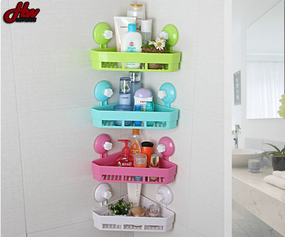 Philippines | Bathroom Corner Shower Shelf With Suction Rack ...