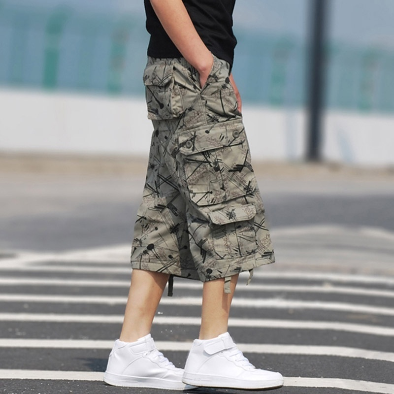 ba4b40f3b6 Product Description Name:Cargo Shorts(no belt) Material:Cotton Decoration :Multi-Pocket,Zipper Fly Closure Feature:Loose  Fit,Soft,Breathable,Wicking,Wear ...