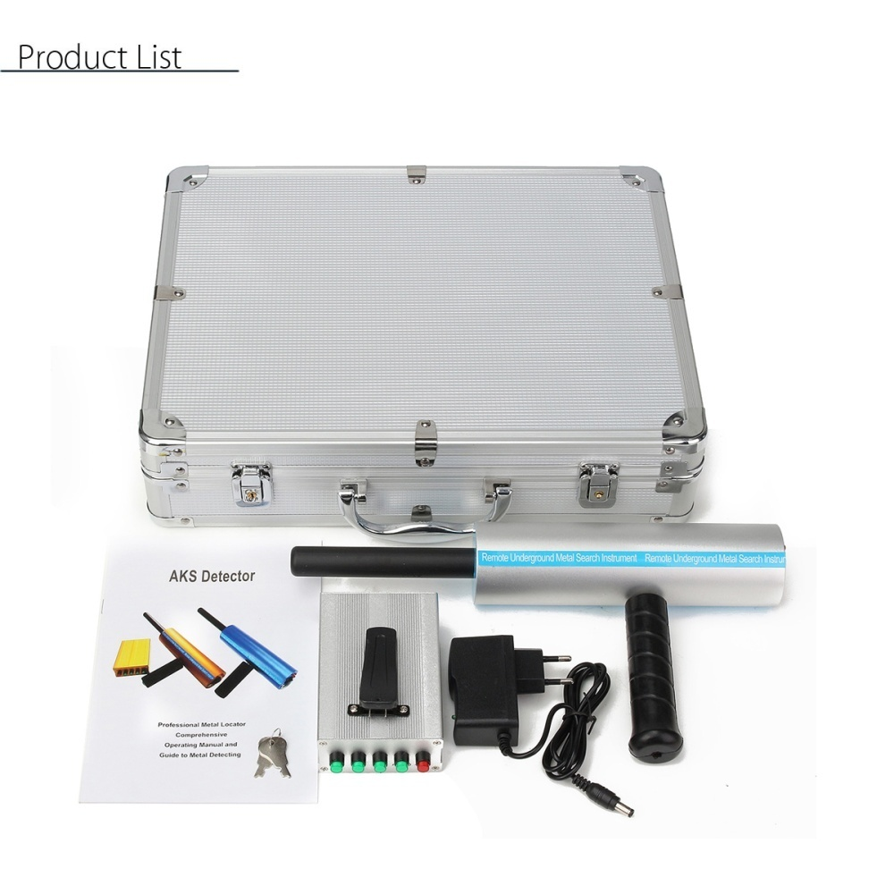 1000m Long Range Search Silver Metal Underground Detection Locator Short Circuit Finder Note Due To The Different Display And Light Picture May Not Reflect Actual Color Of Item Thanks For Your Understanding