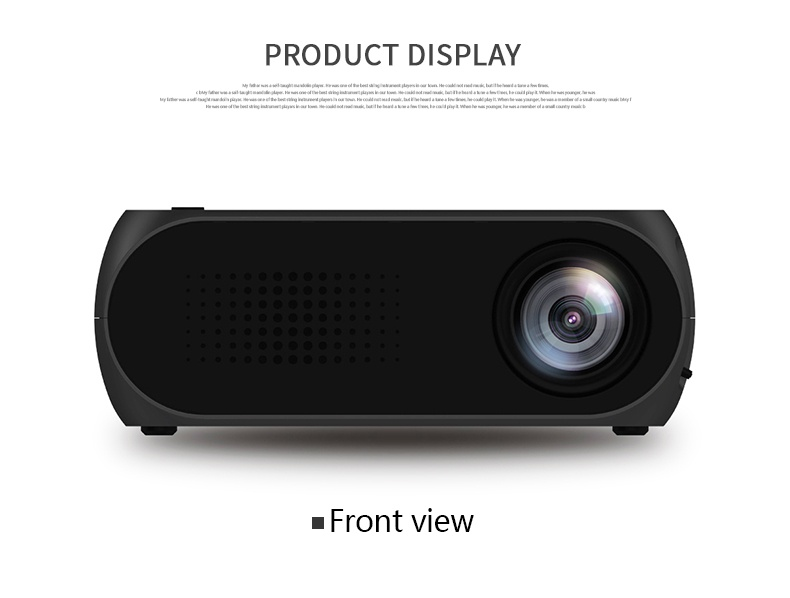Cordya yg320 1080p lcd portable projector for home cinema for What s the best pocket projector