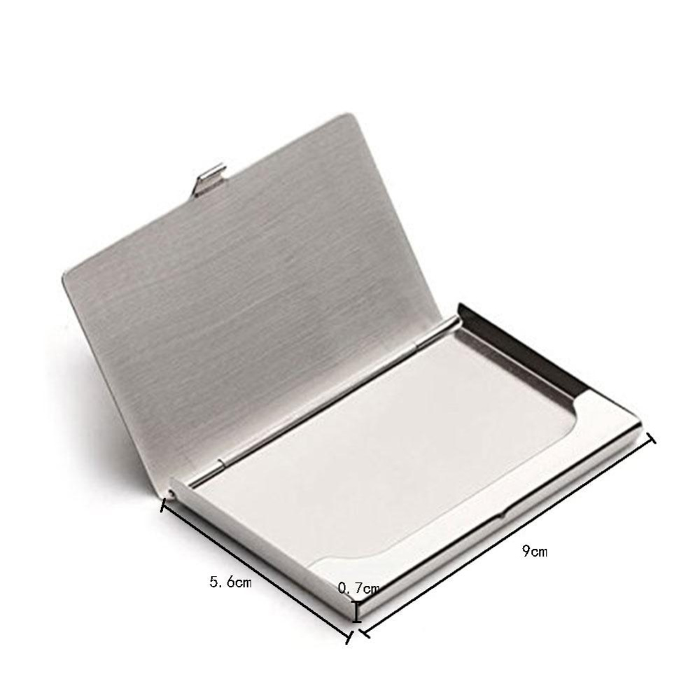 Philippines | uiuinon Stainless Steel Business Name Card Holder Case ...