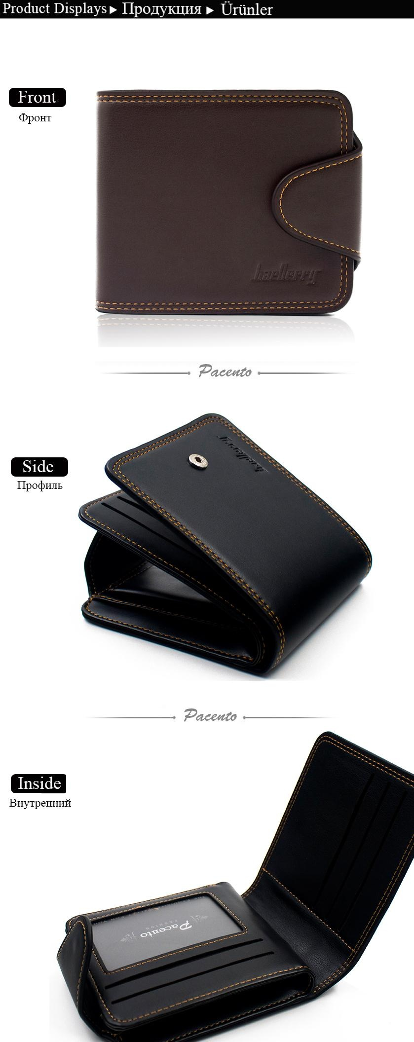f66716b8f593 Specifications of DERI CUZDAN Famous Brand Men Wallet Leather Vintage Hasp  Wallet for Credit Cards Purse with Coin Pocket Male Wallet Casual Men - intl