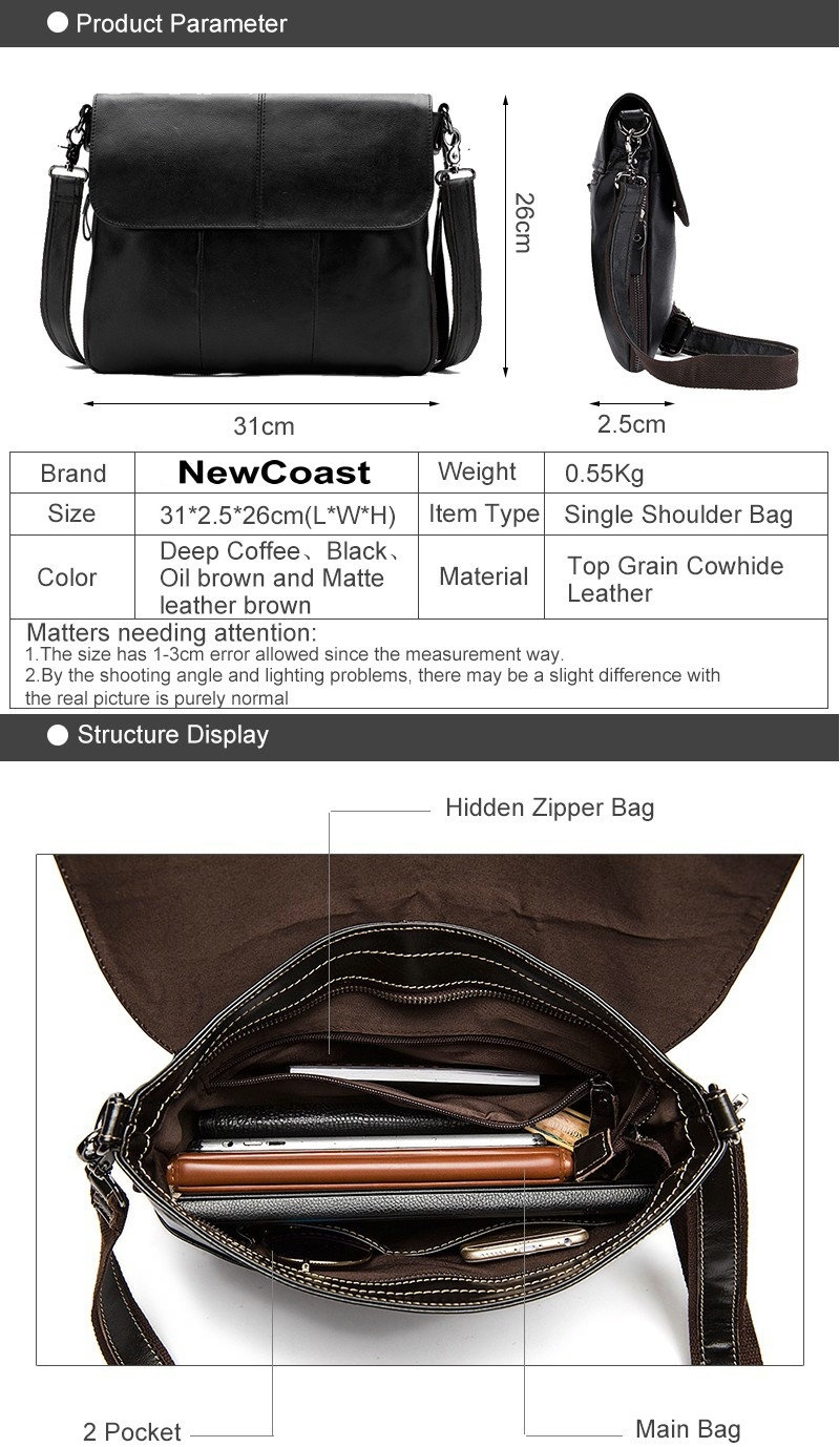 ... leather materials, the products color will inevitably have some color differences. Each monitor also shows the same picture differently.