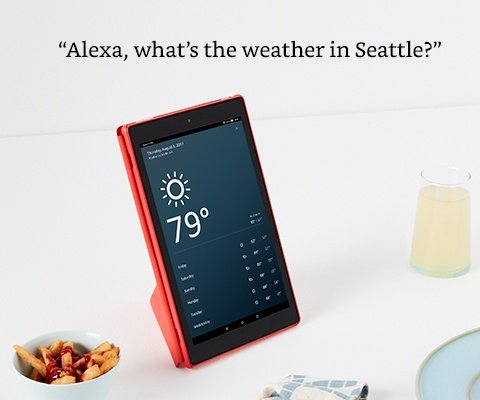 Alexa what's the weather