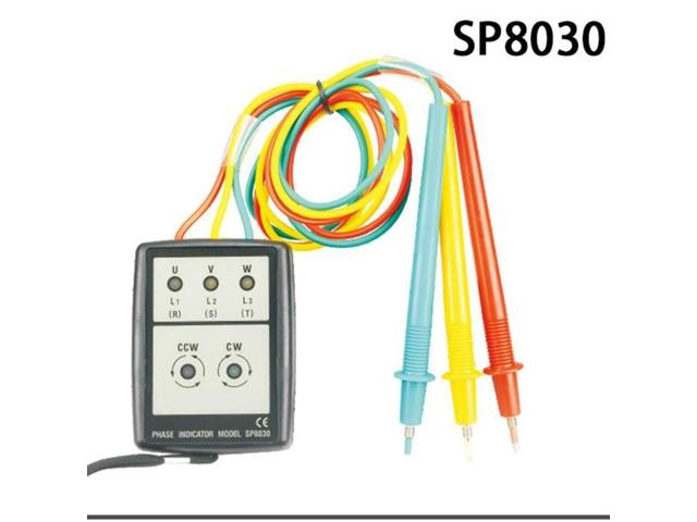 Smart Digital Phase Rotation with LED Indicator Tester Meters SP8030