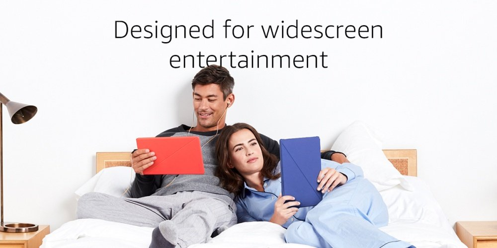 Designed for widescreen entertainment