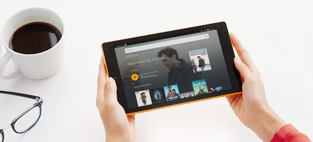 Exclusive features on Fire tablets