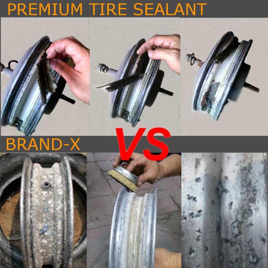 Anti-Freeze Tire Sealant