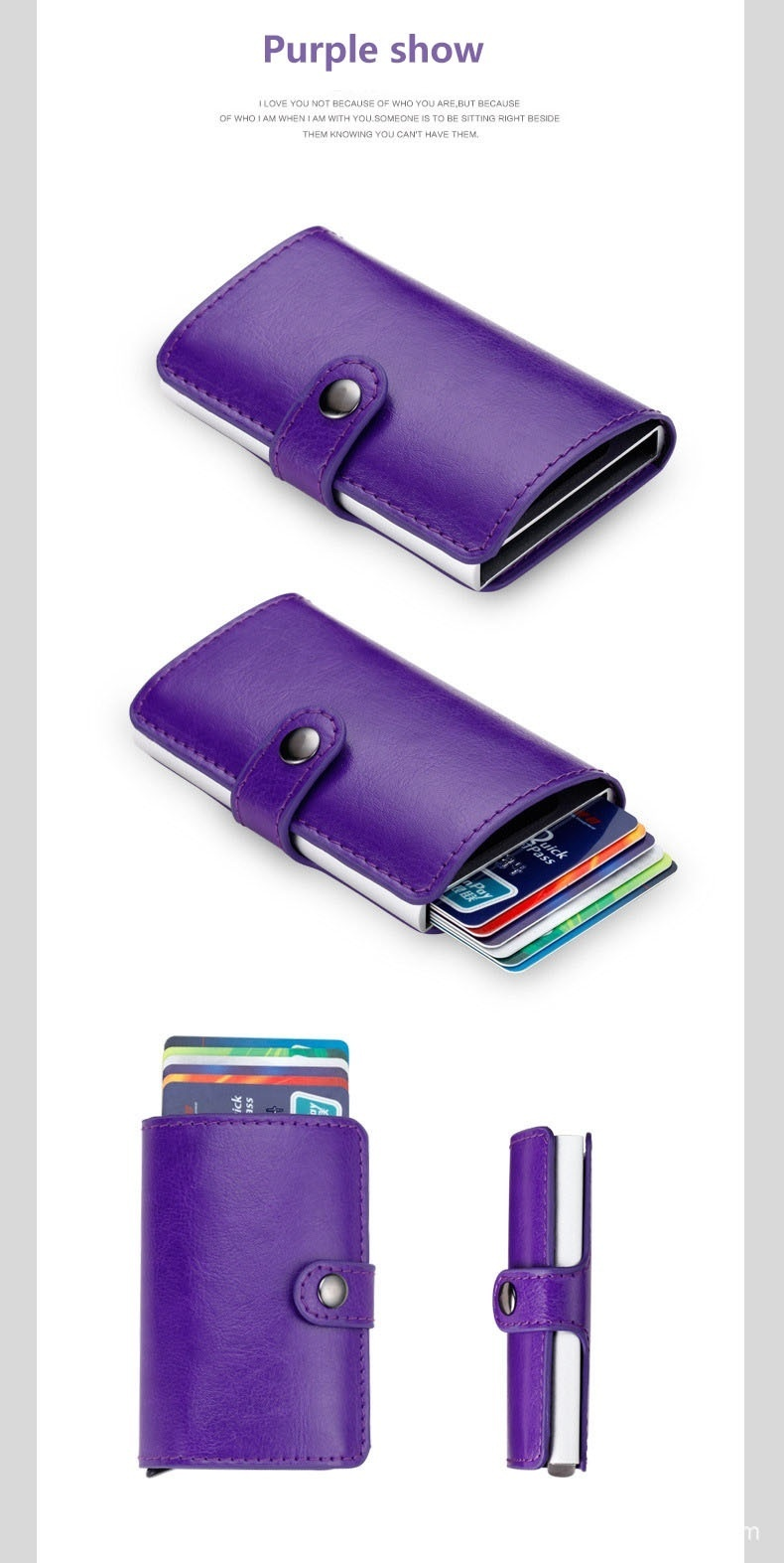 Philippines | Anti-theft Mini RFID Credit Card Case Wallets ...