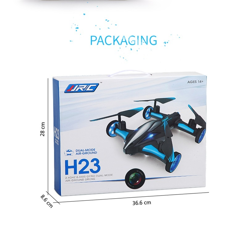 Jjrc H23 Rc Drone Quadcopter 2 4ghz 2 In 1 Air Ground Dual