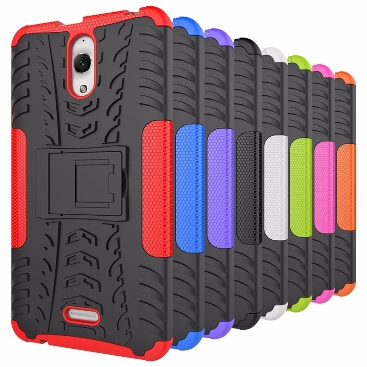 pretty nice 08c07 db84b For Alcatel Pixi 4 (6) 3G 8050D Case TPU & PC Dual Armor Cover with Stand  Hard Silicone Cover For Pixi4 OT-8050D OT8050 6.0 Inch - intl