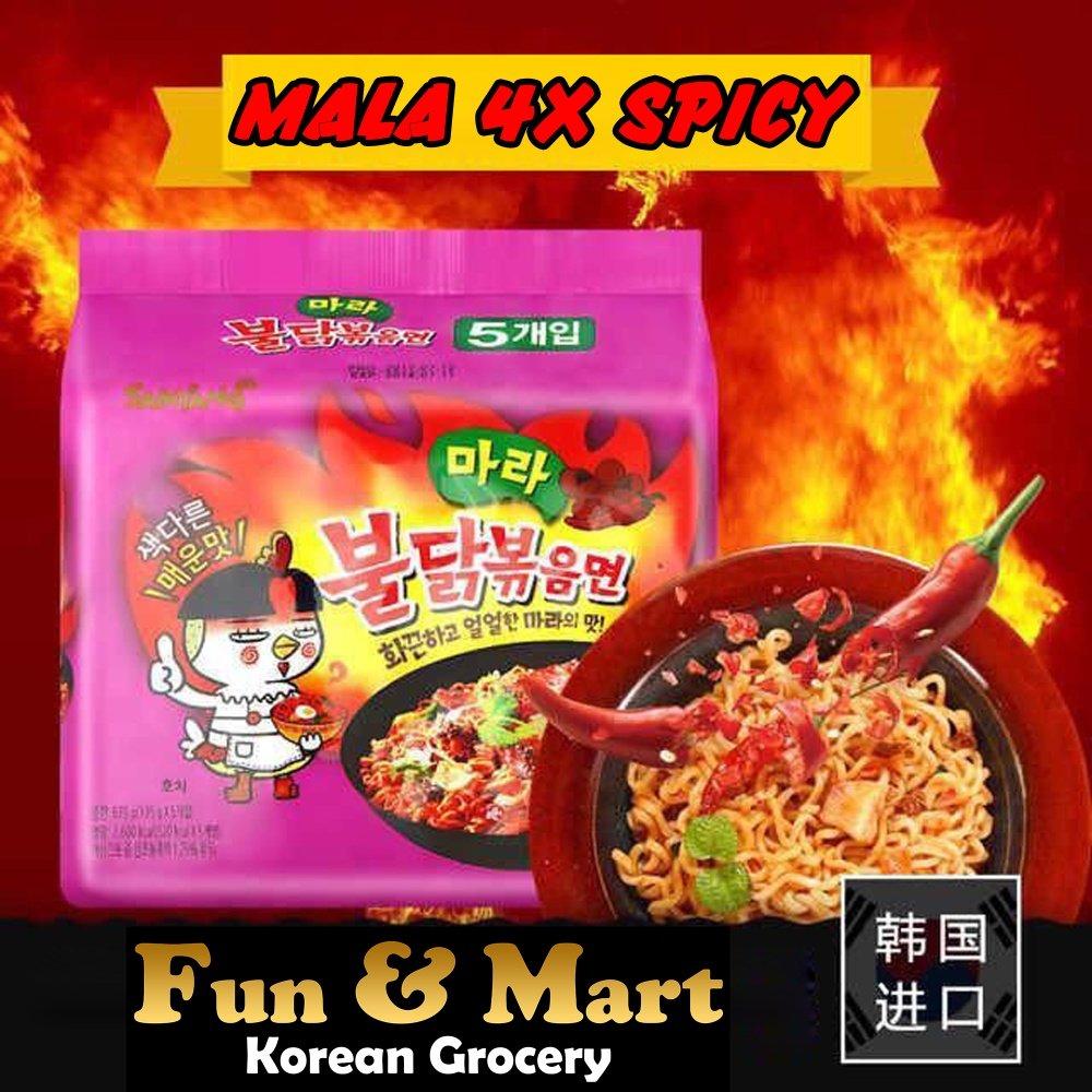 Samyang Cool Chicken Spicy Super Hot Ramen 5pcs Daftar Harga Isi 5 Pcs Specifications Of Buldak Mala Multi 135g X 5pc