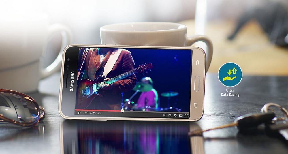 Samsung Galaxy J3 2016 8GB Gold