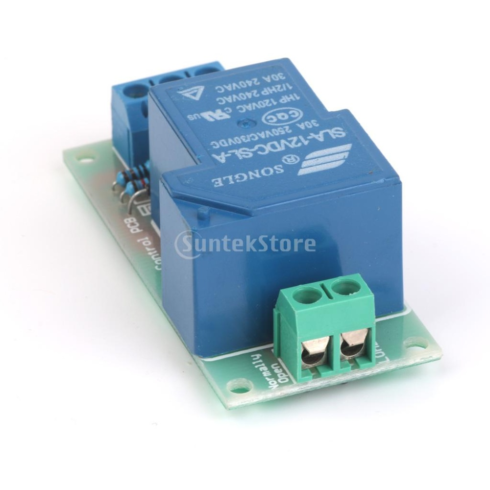 A 5-12V 30A High-power Input Relay Module Optocoupler Isolation ...