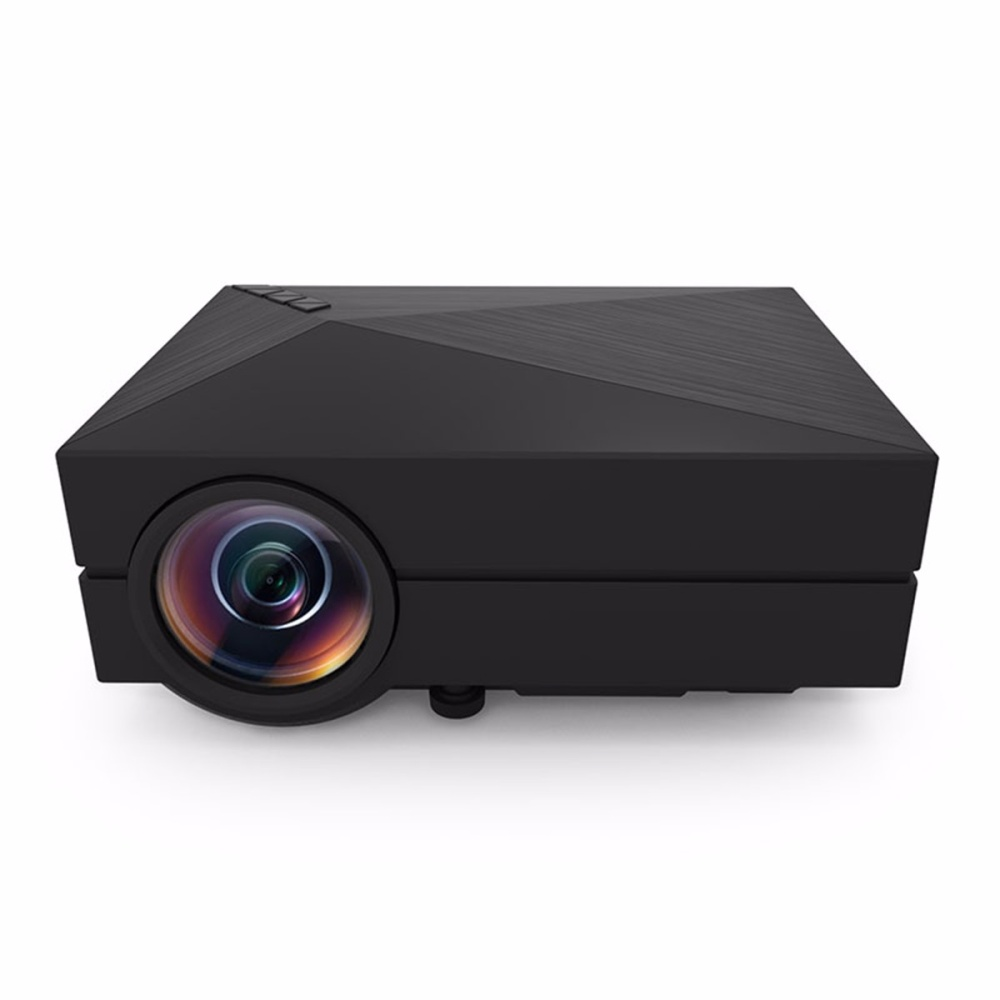 Fuleadture Portable Led Projector 1080p Hd Multimedia: Mini Portable HD LED Projector Home Cinema Theater