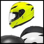 SOL Premium Motorcycle Helmet SF-1 Solid