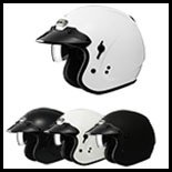 SOL Premium Motorcycle Helmet SO-3 Solid