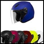 SOL Premium Motorcycle Helmet SL17-S Solid