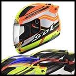 SOL Premium Motorcycle Helmet SL68S-II Illusion