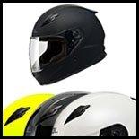 SOL Premium Motorcycle Helmet SF-2 Solid