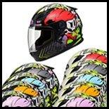 SOL Premium Motorcycle Helmet SF-2 Spark