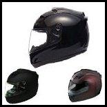 SOL Premium Motorcycle Helmet SL68S Solid