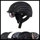SOL Premium Motorcycle Helmet SH-1 Grit