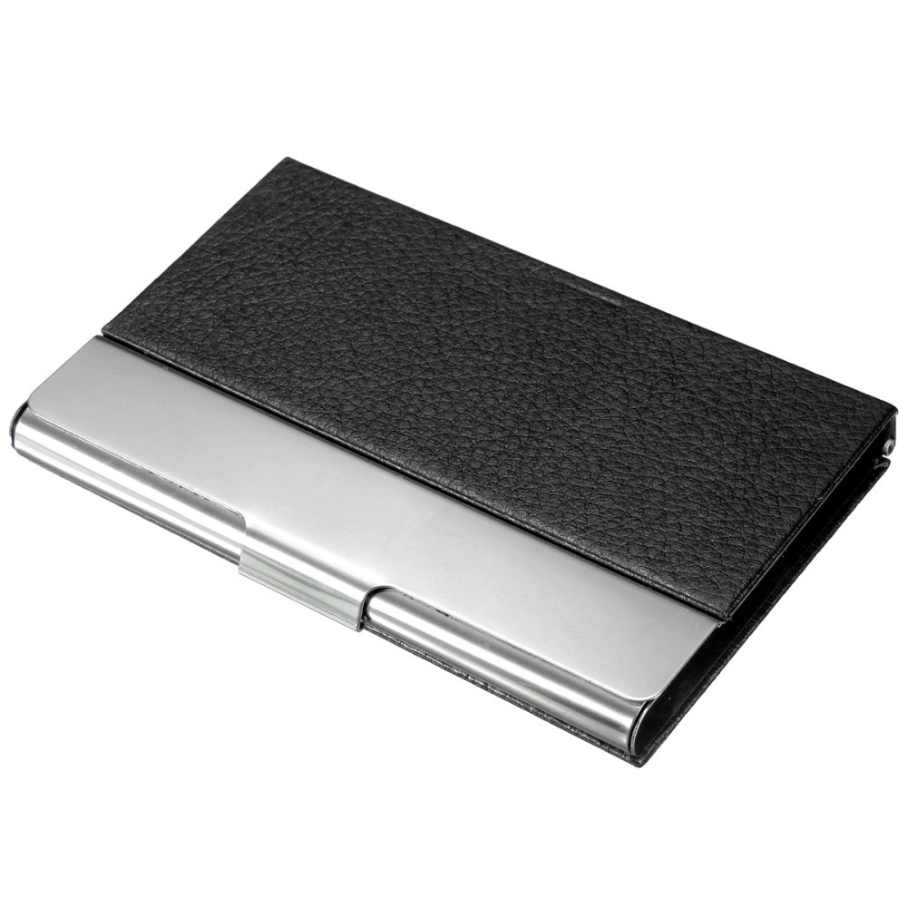 Philippines | New Pocket Aluminum Leather Pocket Business ID/Credit ...