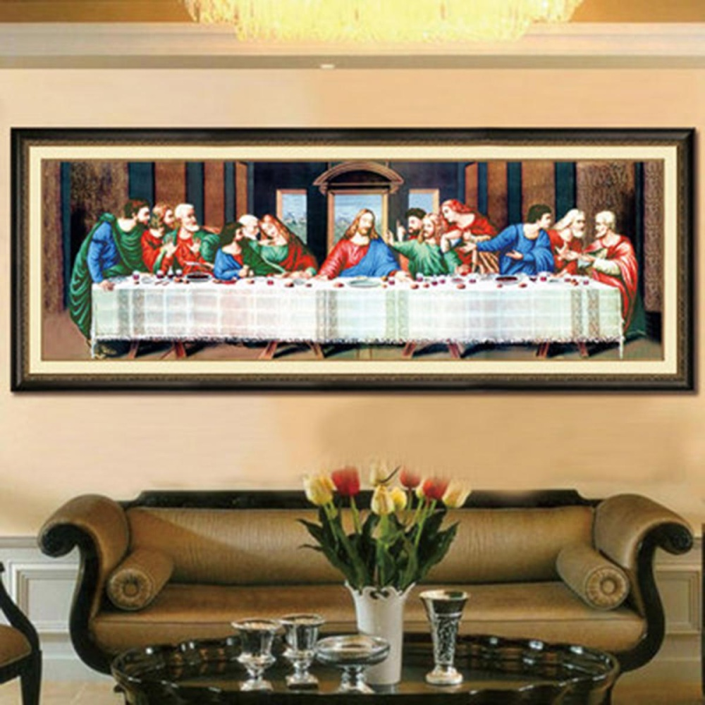 Diy Handmade Cross Stitch Kits 39 The Last Supper 39 Home