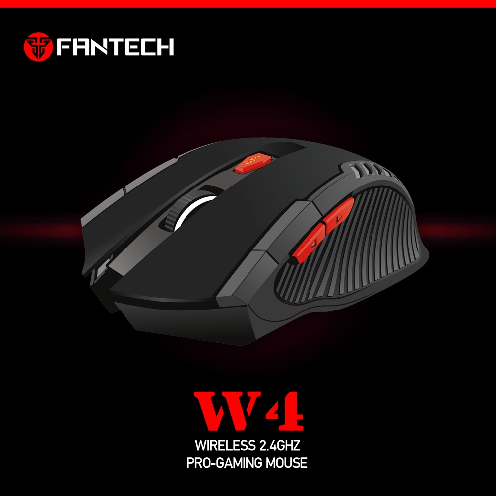 Fantech W4 Wireless Gaming Mouse Hitam Daftar Harga Terlengkap W556 Mousepad Mp25 Specifications Of Raigor 24ghz Pro Fntchdd01