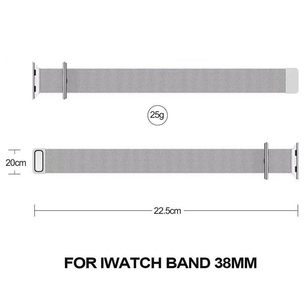 Very comfortable to wear and easy to install, replace original apple watch band easily. Personalize your apple watch with this refined strap at much less ...