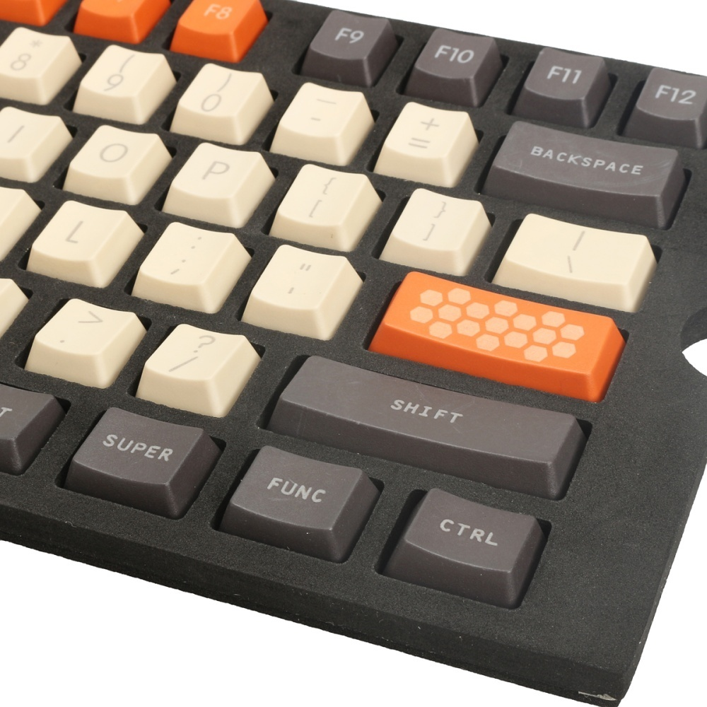 Notice: 1. The color may have different as the difference display,pls understand. 2. it's only keycaps and keycap puller. don't contain keyboard.