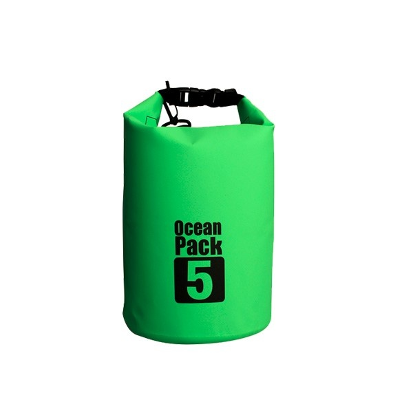 Hot selling 5L waterproof dry bag with your custom logo for swimming drifting