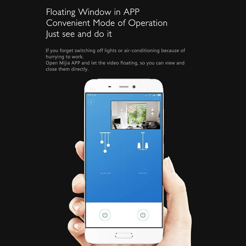Original Xiaomi Mijia Aqara Smart Ip Camera Linkage Alarm 180 Door Window Sensor White Gateway Edition See Clearer And Further A Good House Keeper This Can Be Used As Multifunctional