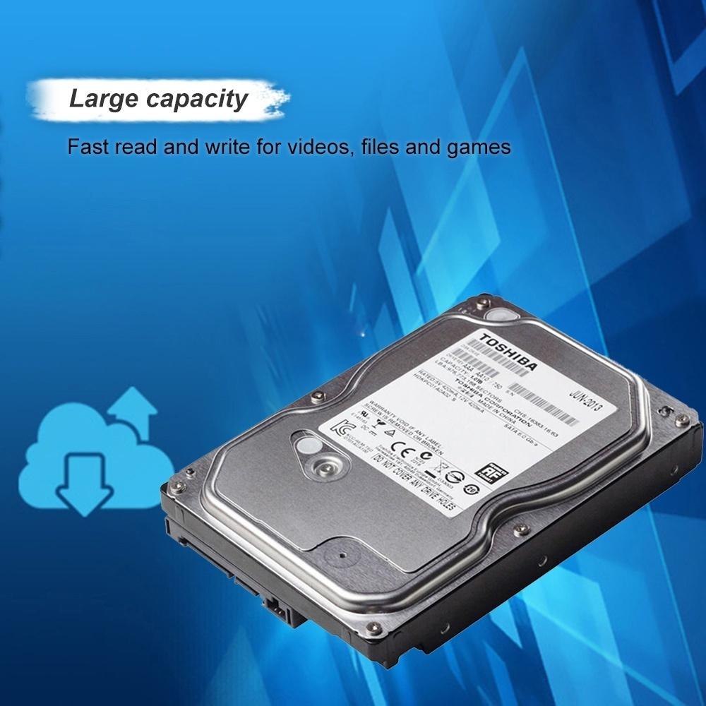 Philippines | TOSHIBA 1TB Desktop HDD Internal Hard Disk Drive 7200