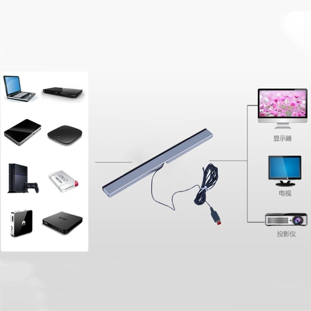 Philippines | GOOD Wired Replacement Infrared TV Ray Sensor Bar for ...
